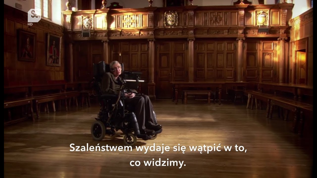 Stephen Hawking o sensie życia | Discovery Science