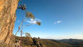 Warrumbungles National Park: climber