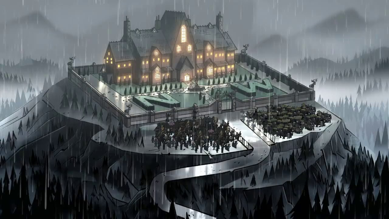 Gravity Falls Dipper And Wendy Wallpaper Gravity Falls Northwest Mansion Mystery Trailer Youtube