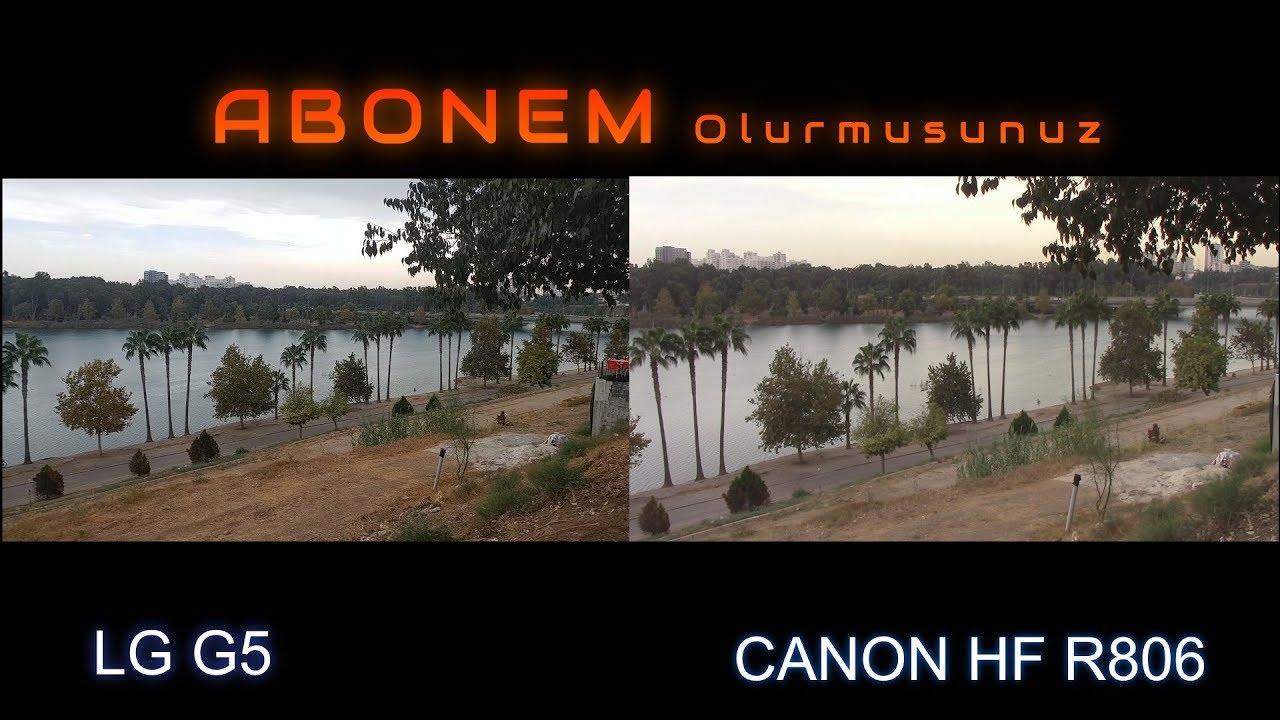 Canon Legria HF R806 test video (new model, wifi)