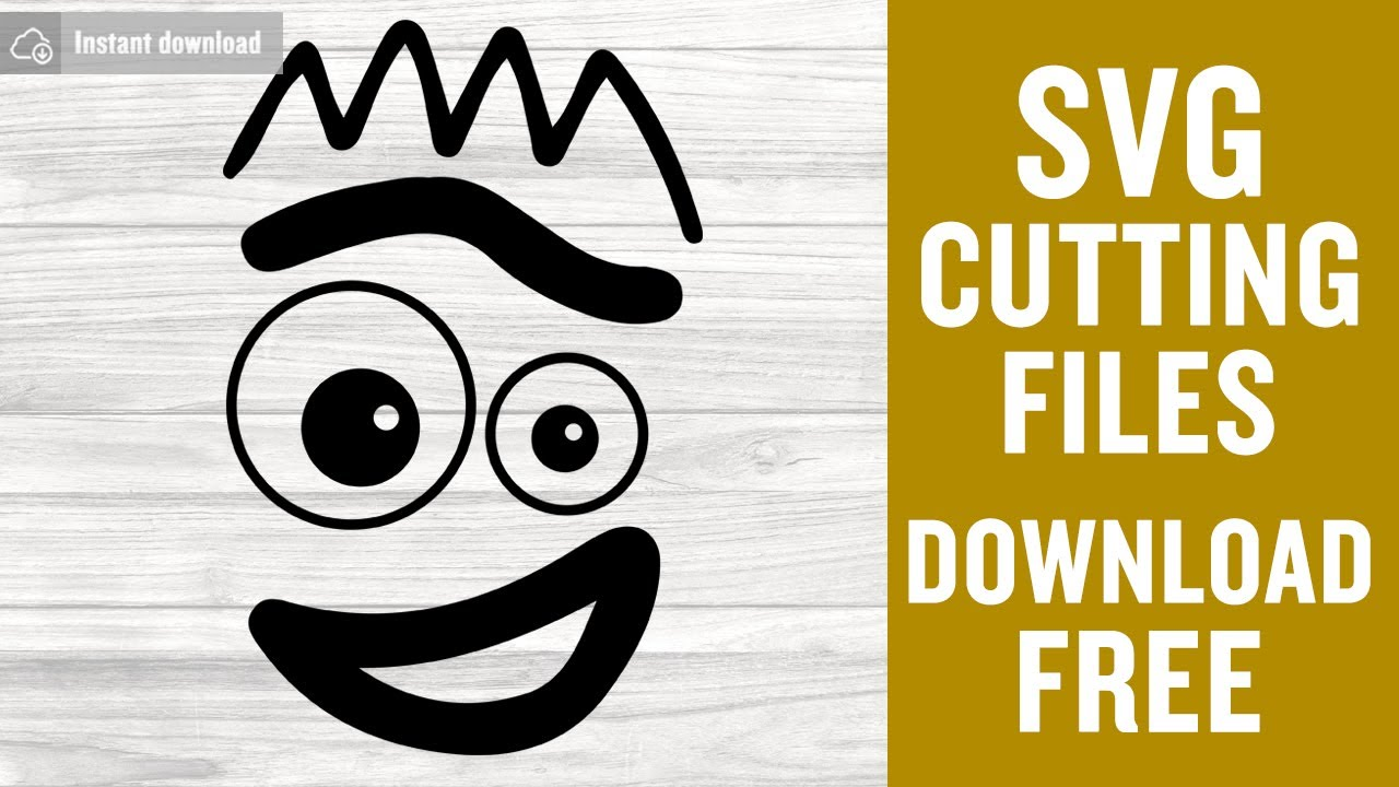 Download Forky Svg Free Cutting Files for Cricut Silhouette Free ...