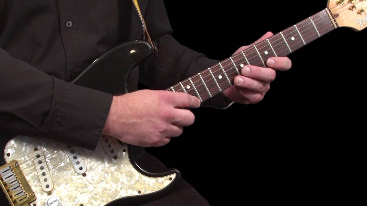 Learning Guitar Lesson Two Handed Tapping Youtube