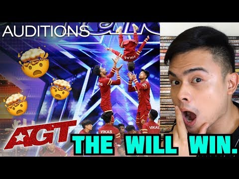 Filipino Dancer Reacts to V UNBEATABLE at AMERICA'S GOT TALENT | AGT AUDITIONS