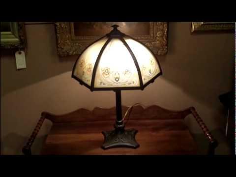 Antique Lamps, Art Nouveau Antique Lamp