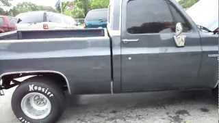 1986 Chevy C10 Short Bed 383 Stroker Frame Off restored for sale