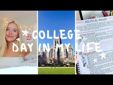 COLLEGE DAY IN MY LIFE VLOG | Boston College