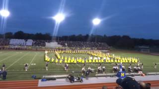 MHS Marching Band Pregame 10/21/16 - (MHS vs DHS)