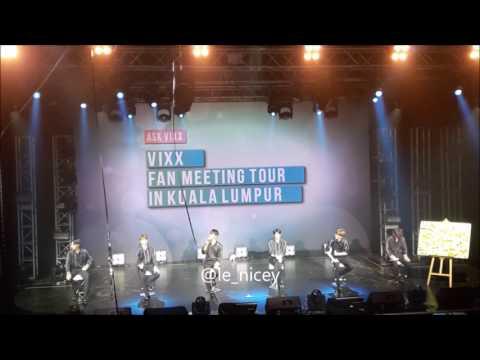 170727 Post It Q&A cut - VIXX Kuala Lumpur Fanmeeting