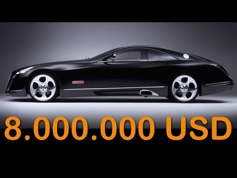 Maybach Exelero Price 8 000 000 The Most Expensive Car Youtube