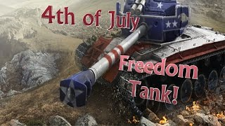 World of Tanks Xbox 360 4th of July Freedom Tank