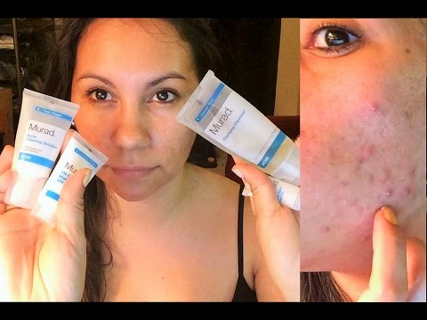 MURAD Acne Kit Review -- Two Months Results! (10-08-2014)