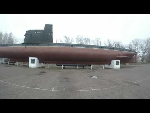 Руф.Залез на подробную лодку.441-батарея.спалила охрана