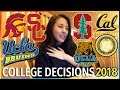 College decision reactions 2018 stanford ucla usc berkeley california schools katie tracy mp3
