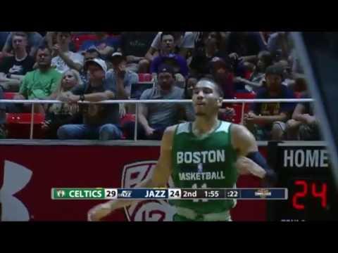 Summer league: Utah Jazz vs Boston Celtics 2017