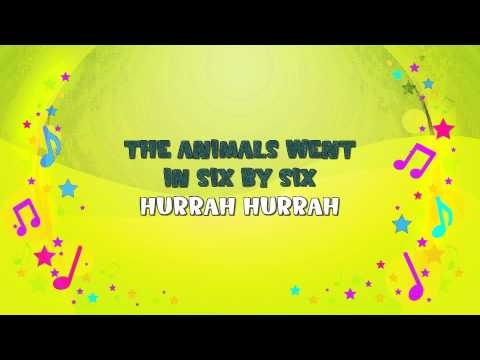 The Animals Went In Two By Two Karaoke