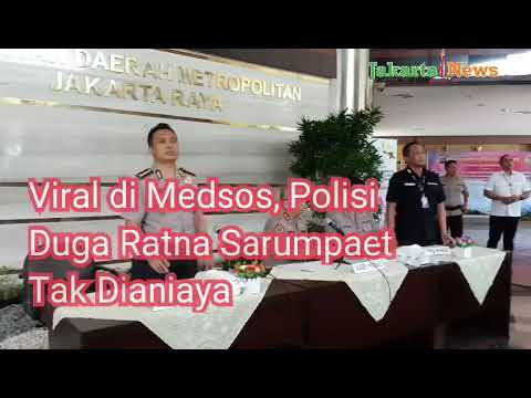 Penyelidikan Polisi Duga Ratna Sarumpaet Tak Dianiaya