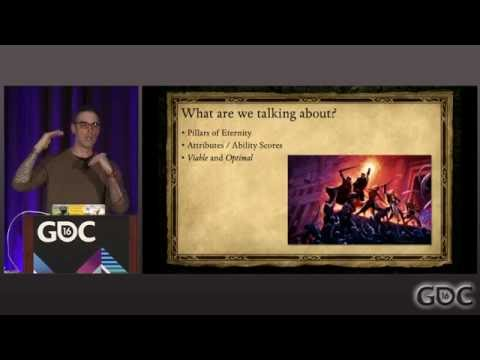 Pillars of Eternity and Proper Attribute Tuning