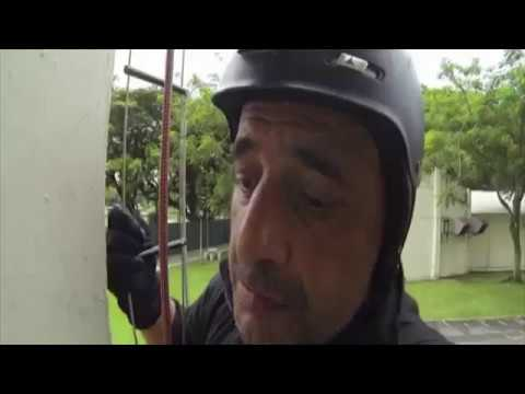 STAR Team (Singapore Police Force) Rappelling Training