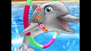 Играем в игру - My Dolphin Show (Дельфинарий)