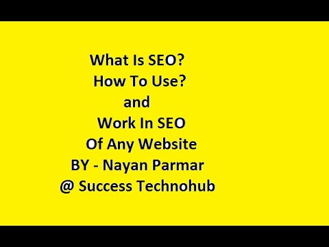 What Is SEO ? And How Does It Work? SEO Tutorial Beginners | SEO Training thumbnail