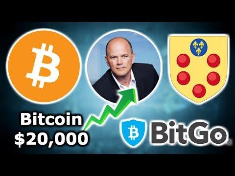 BITCOIN OVER $20,000 Says Novogratz - FinCen & Liechtenstein Crypto Regulation - Medici Bank Crypto