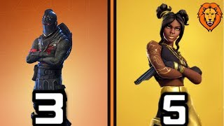 RANKING ALL 50 BATTLE PASS SKINS WORST TO BEST! (Fortnite)