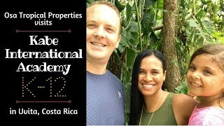 Osa Tropical Properties Visits Kabe International Academy, K-12 School in Uvita, Costa Rica