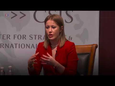 Что Ксения Собчак, кандидат в президенты РФ, говорит в Вашингтоне