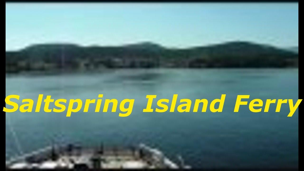 Bc Ferries Salt Spring Island