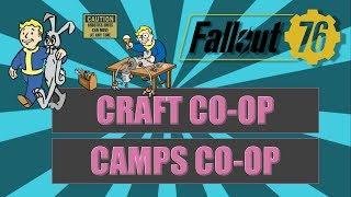 FALLOUT 76: TOUT SAVOIR SUR LE CRAFT ET LES CAMPS EN CO-OP