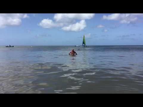 Mike Gorman roaming reporter - Saint Lucia