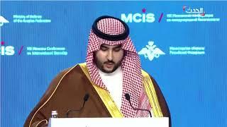 خالد بن سلمان: إيران مستمرة بدعم التطرف والإرهاب منذ 1979