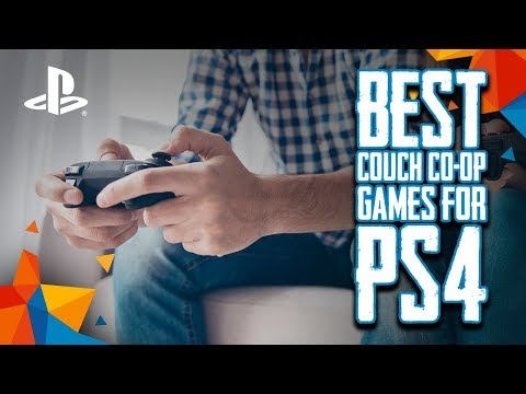 TOP 10 Best Shared / Split Screen Couch Co-Op Games For PS4 [2018]