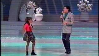 Jose jose con su hija, cancion piel de azucar,