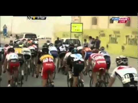 Tour of Qatar stage 3 The Final KM