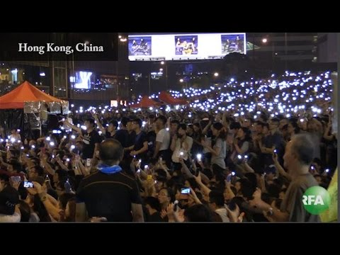 Hong Kong Activists Stage 'Peace Rally' as Tempers Flare