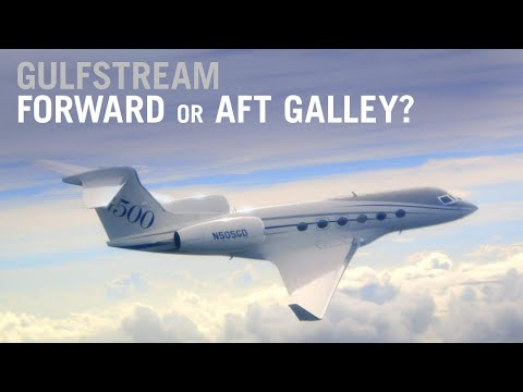 Why Does Gulfstream Still Offer an Aft Galley Option? – AINtv