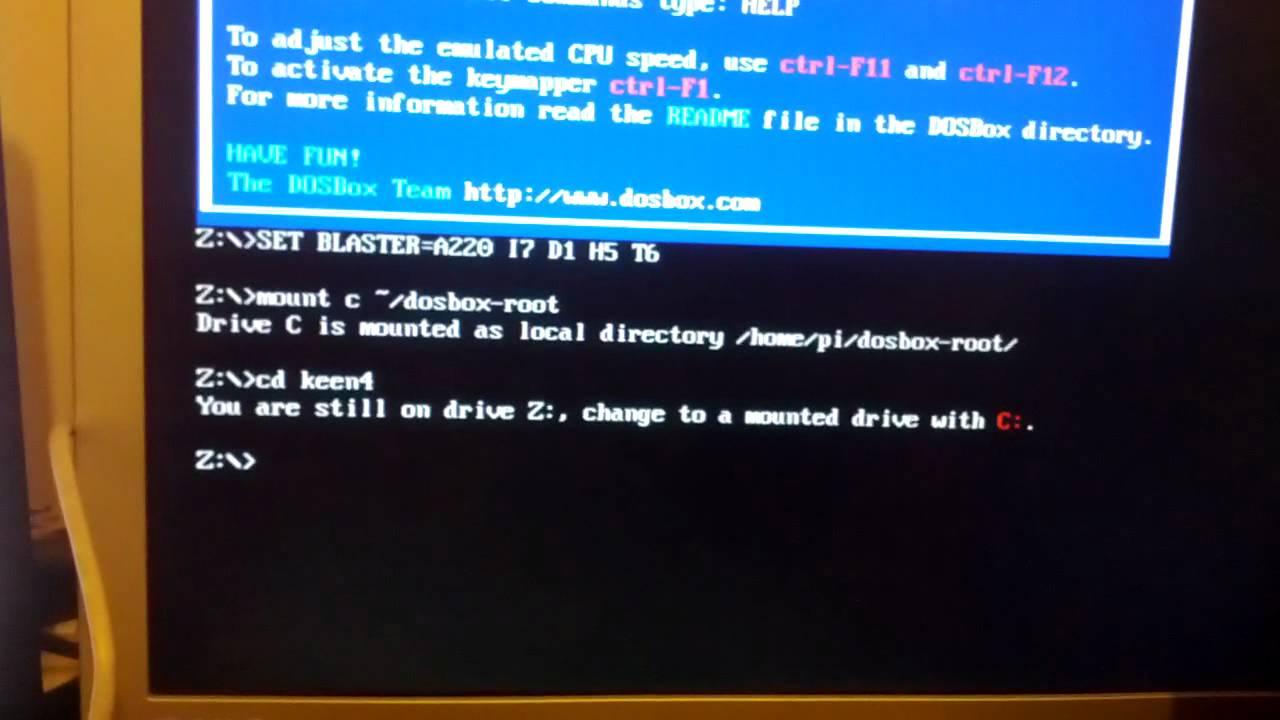 dos emulator raspberry pi 2