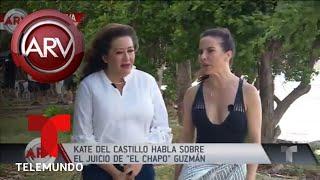 Kate del Castillo aclara si irá a juicio de El Chapo | Al Rojo Vivo | Telemundo