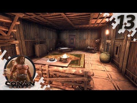 CONAN EXILES: THE FROZEN NORTH - Interior Decorating! - EP13