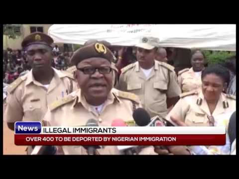 ILLEGAL MIGRATION: Over 400 to be deported by Nigerian immigration