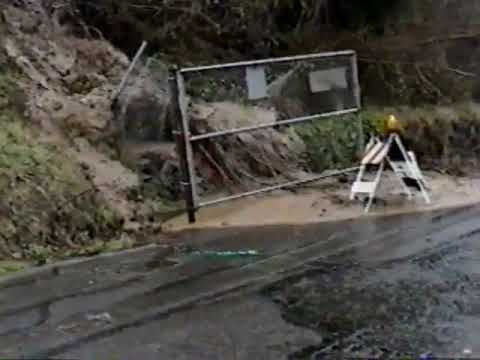 FATHER AND SON OUTRUN THE MOST INSANE MUDSLIDE EVER CAUGHT ON CAMERA!!!!
