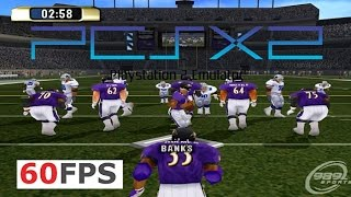 NFL Gameday 2001 PS2 PCSX2 60fps HD (989 Sports, 2000)