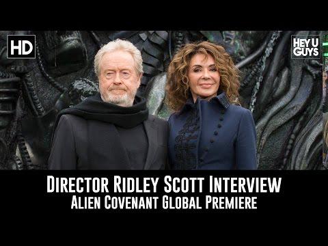 Ridley Scott Premiere Interview - Alien Covenant