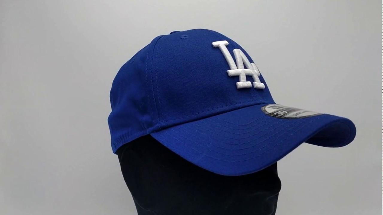 1e162137c11df New Era 39Thirty Curved cap (3930) LA Los Angeles Dodgers - Royal - €29
