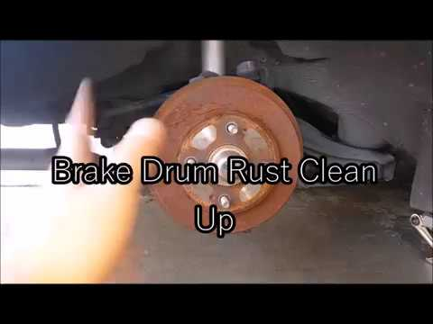 How to Clean Brake Drums - AMAZING RESULTS!!!