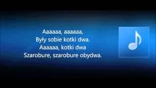 Ach, śpij kochanie (kotki dwa) instrumental, karaoke