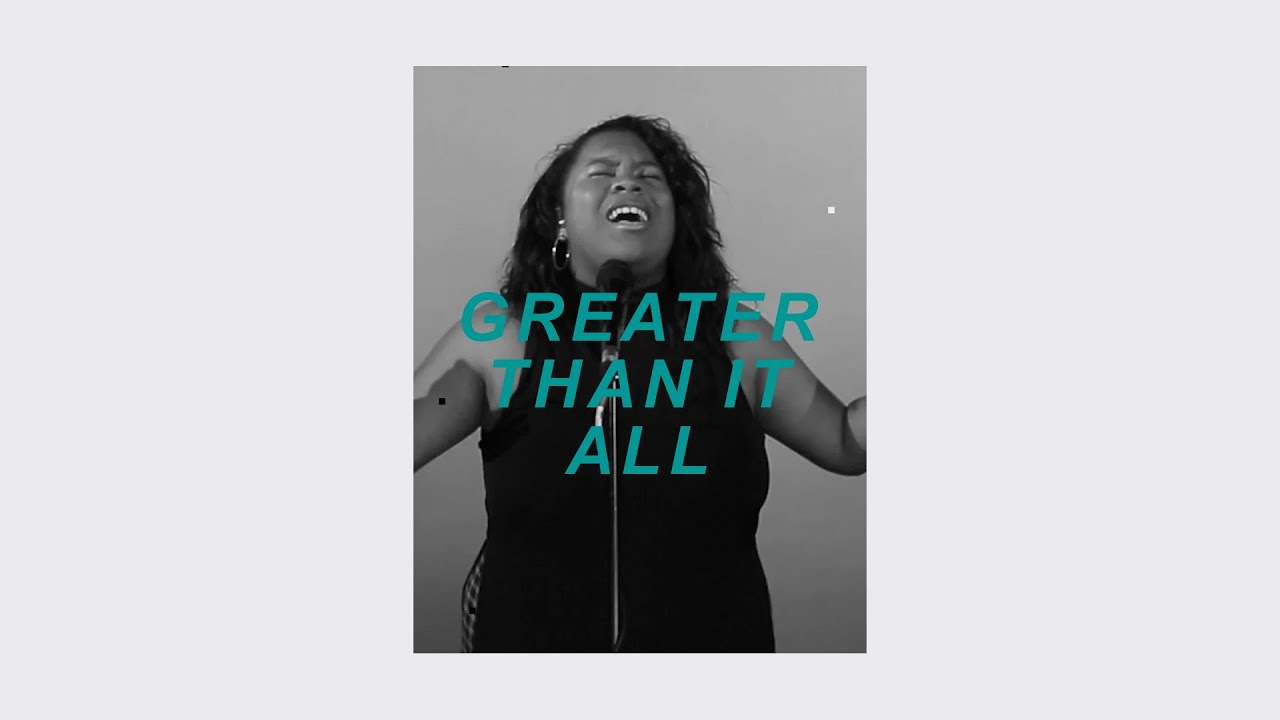 Greater Than It All (Live) - Ysabel Bain Cover Image