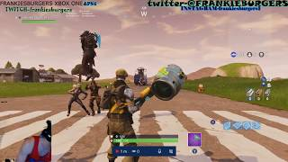 FORTNITE LIVE! XBOX ONE! TOP CONSOLE CAMPER! NEW SKIN OUT NOW