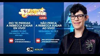Baixar CN LIVE | Fan chat com a criadora de Steven Universo: Rebecca Sugar